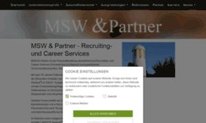 Msw-partner.de thumbnail