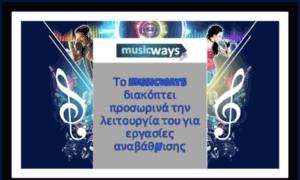 Musicways.gr thumbnail
