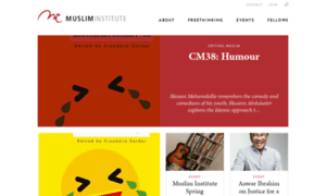 Musliminstitute.org thumbnail