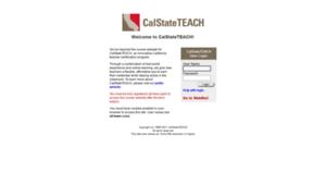 My.calstateteach.net thumbnail