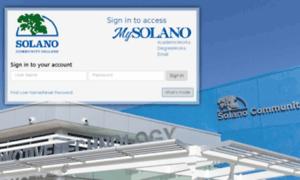 My.solano.edu thumbnail