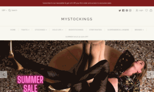 Mystockings.co.uk thumbnail