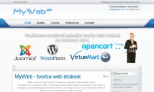Myweb.sk thumbnail