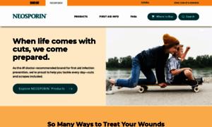 Neosporin.com thumbnail