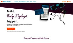 Www netspendallaccess com/upgrade - More info