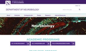 Neurobiology.northwestern.edu thumbnail