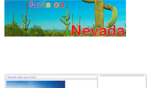 Nevadafacts.facts.co thumbnail