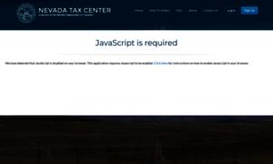 Nevadatax.nv.gov thumbnail