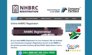 Nhbrcregistration.co.za thumbnail