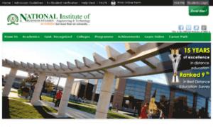 Nibs-niet.edu.in thumbnail