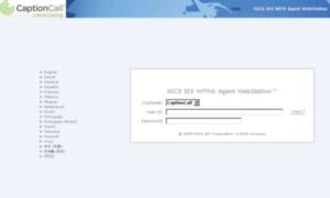 nice agent webstation captioncall