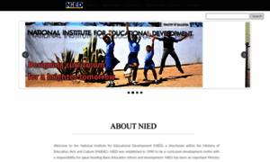 Nied.edu.na thumbnail