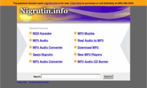 Nigrutin.info thumbnail