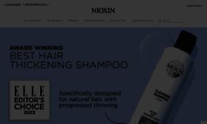 Nioxin.com thumbnail