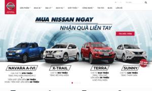 Nissan.com.vn thumbnail