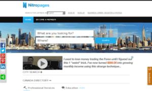 Nitropages.ca thumbnail