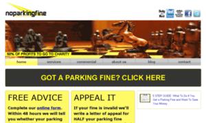Noparkingfine.co.uk thumbnail