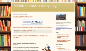 Northlandlibrary.blogspot.com thumbnail