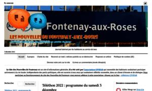 Nouvellesdefontenay.fr thumbnail