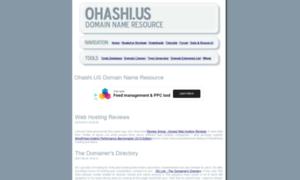Ohashi.us thumbnail