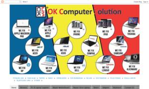 Okcomputersolution.net thumbnail