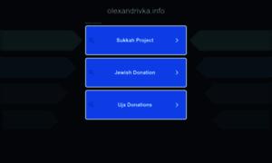Olexandrivka.info thumbnail