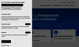 Ombudsmanassociation.org thumbnail