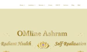 Omlineashram.org thumbnail