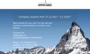 Omnisec.ch thumbnail