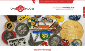 Onestopbadges.co.uk thumbnail