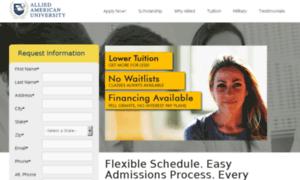 Online.allied.edu thumbnail