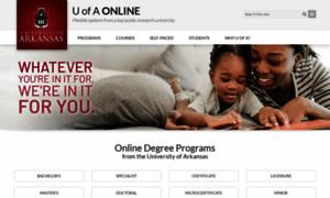Online.uark.edu thumbnail