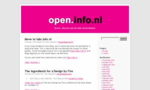 Open.info.nl thumbnail