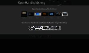 Openhandhelds.org thumbnail