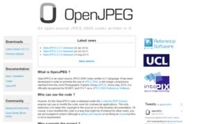 Openjpeg.org thumbnail