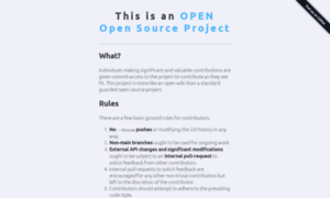 Openopensource.org thumbnail