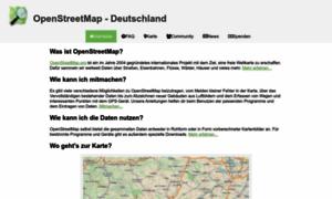 Openstreetmap.de thumbnail