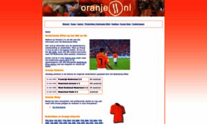 Oranje11.nl thumbnail