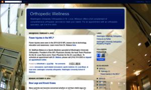 Orthopedicwellness.wustl.edu thumbnail