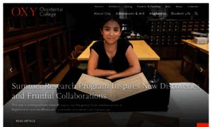 Oxy.edu thumbnail