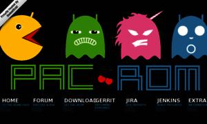 Pac-rom.com thumbnail
