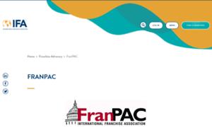 Pac.franchise.org thumbnail