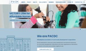Pacdc.org thumbnail