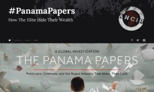 Panamapapers.investigativecenters.org thumbnail