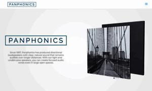 Panphonics.com thumbnail