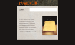 Paparone.fr thumbnail