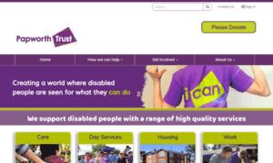 Papworthtrust.org.uk thumbnail