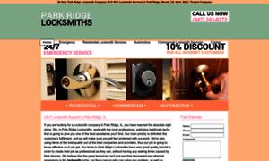 Parkridgelocksmiths.biz thumbnail
