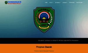 Pasamankab.go.id thumbnail