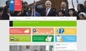 Pasosfronterizos.gov.cl thumbnail